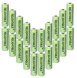 Solar Light AA Ni-Mh 600mAh Rechargable Batteries ( Pack of 20)