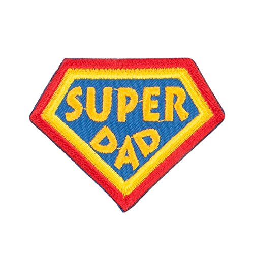 Dad Patch - Super Dad Family Patches - Yellow OSFM