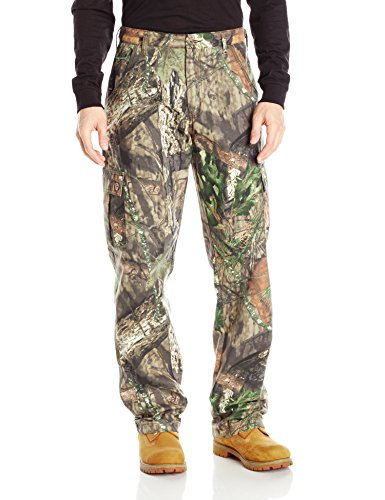 Berne Men's Camouflage Field Pant, Country, Medium