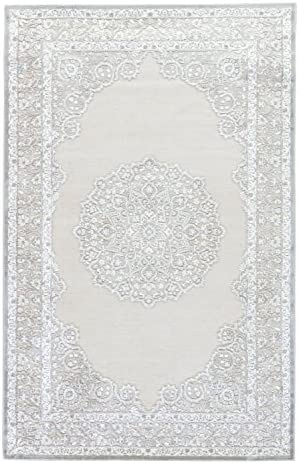 Jaipur Living Malo Medallion Gray White Area Rug 8 10 X11 9
