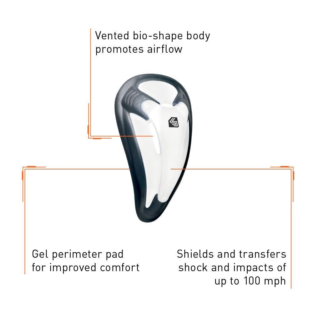 Shock Doctor Tiefschutz Core Supporter Bioflex Cup Material de entrenamiento para hockey sobre hielo copa L//Adulto