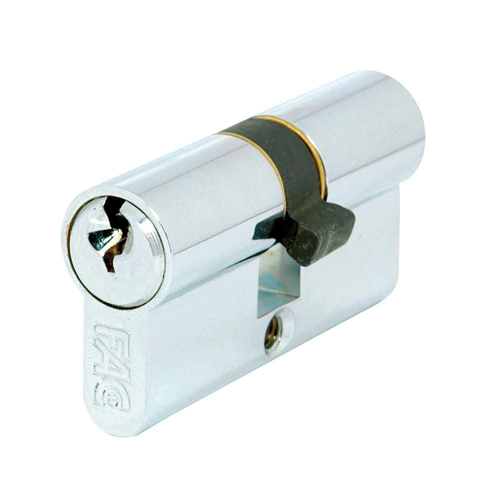 Fac 3014095 Cilindro Llave Dentada 60-f 30x30 Niquelado 13, 5mm
