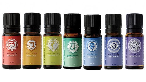 Mr Steam Series (Mr. Steam Ms Chakra7 Chakra Blend Essential Oils, 7 Pack)