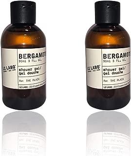 product image for Le Labo Bergamote 22 Shower Gel, Body Wash - lot of 2 - Each 3oz bottles. Total of 6oz