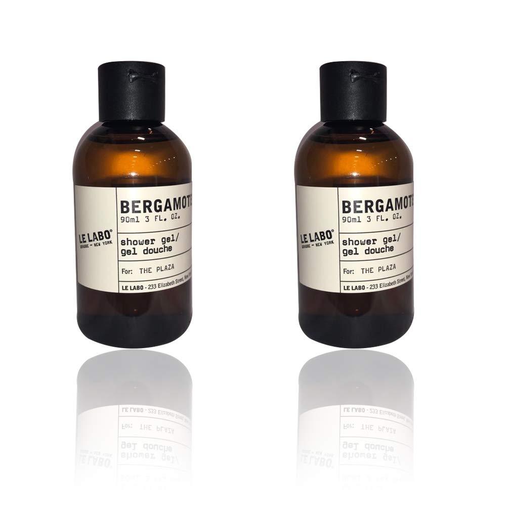 Le Labo Bergamote 22 Shower Gel, Body Wash - lot of 2 - Each 3oz bottles. Total of 6oz