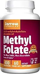 Jarrow Formulas Methyl Folate 5-MTHF, Su...