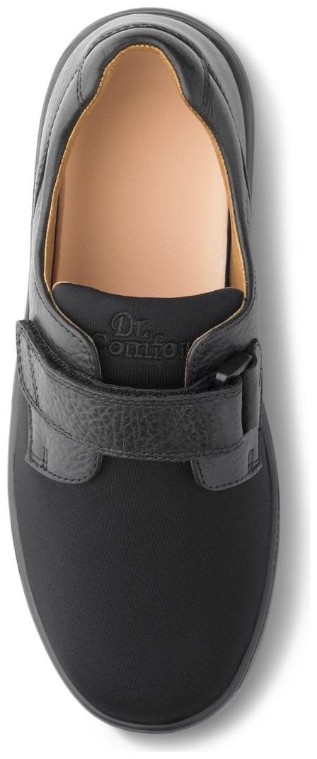 Dr. Comfort Annie Womens Casual Shoe Black Wide Size 9 by Dr. Comfort (Image #2)
