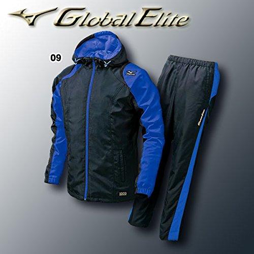 ミズノ グローバルエリート フルオープンシャツ上下セット 品番:シャツ:52WB865/パンツ:52WP865 B00GD435R29 XO