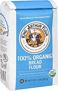 Amazon.com : King Arthur Flour 100% Organic Bread Flour, 2
