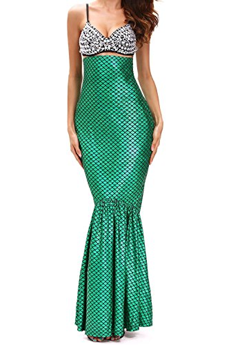 Making A Toga Costume (BYY Deluxe Under The Sea Mermaid Halloween Costume(Size,S))