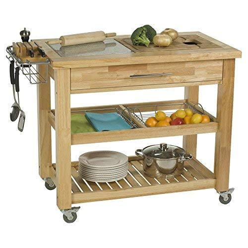 Chris Chris Jet1223 Pro Chef Kitchen Work Station, 23 by 40 by 35-Inch