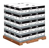 HP Printer Paper, Copy and Print, 20lb, 8.5 x 11, Letter, 92 Bright - 200,000 Sheets / 40 Cartons / 1 Pallet (200060P) Made In The USA