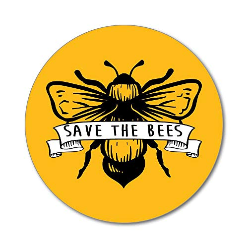 [해외]Save The Bees Banner enviornment Yellow Planet Earth Flower Car Sticker Decal / Save The Bees Banner enviornment Yellow Planet Earth Flower Car Sticker Decal