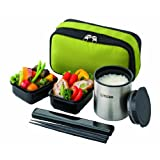TIGER thermos lunch box Green LWY-R024-G (japan import)