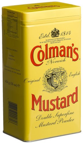 Prepared Mustard - Colman's Mustard Powder, 16-Ounce Cans (Pack of 3)