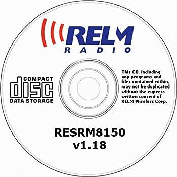 RELM RM8150 PROGRAMMING SOFTWARE RESRM8150 V1.18