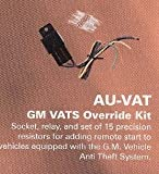 Omega AU-VAT GM VATS Passlock 1 & 2 resistor based anti theft bypass