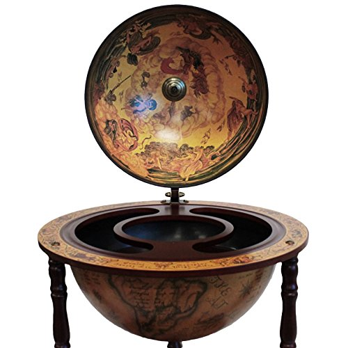 Urban Designs Antique Reproduction 16th Century Italian Old World Globe Bar by Urban Designs (Image #3)