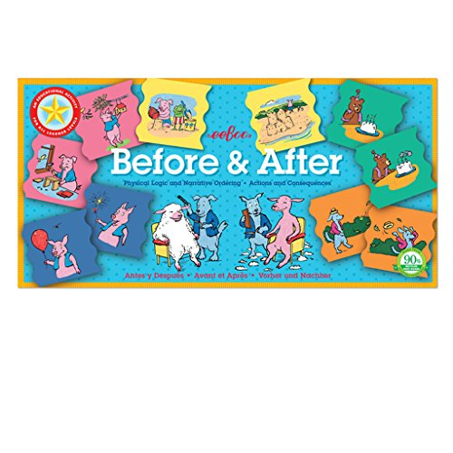 eeBoo Before and After Matching Game, Cause and Effect