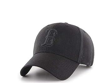 47Brand Gorra de béisbol del bosten Red Sox Negras - MLB Cappy: Amazon.es: Deportes y aire libre