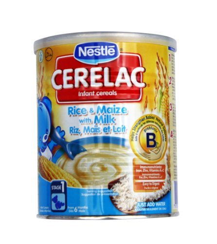 Nestle Cerelac Rice and Maize with Milk 400g (Europe) New!