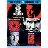 Jack Ryan Triple Feature - The Hunt For Red October / Patriot Games / Clear and Present Danger