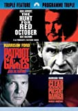 Jack Ryan Triple Feature - The Hunt For Red October / Patriot Games / Clear and Present Danger (3DVD)