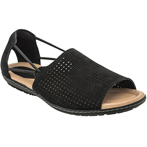 Earth Women's Black Shelly 5 Medium US
