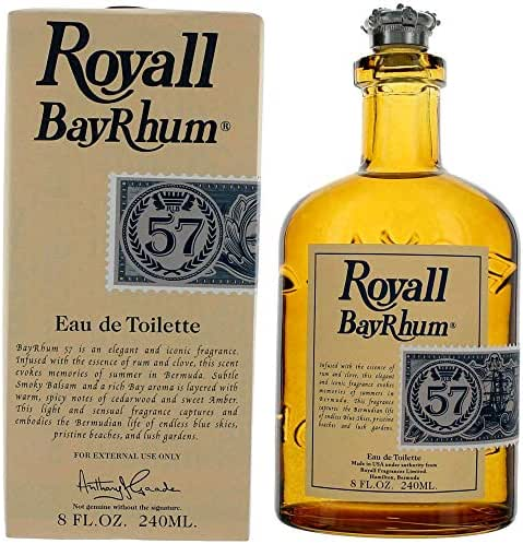 Royall BayRhum 57 by Royall Fragrances, 8 oz EDT Splash for Men