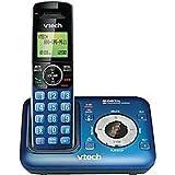 VTech CS6429-15 Dect 6.0 Teléfono inalámbrico con Sistema de contestador Digital e identificación de Llamadas, Ampliable hasta 5 Auriculares, Montaje en Pared, Azul