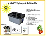 Complete Hydroponic System DWC BUBBLER kit #3-4 H2OtoGro For Sale