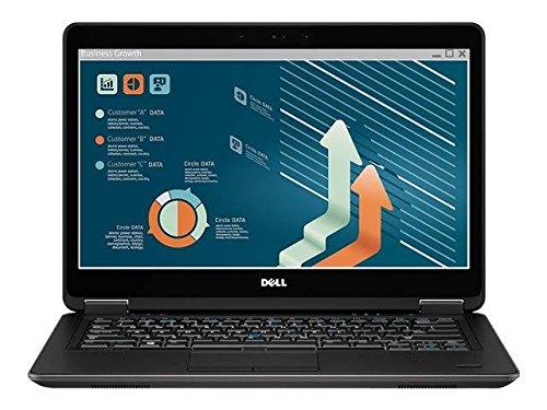 "2017 Dell Latitude E7440 14.1"" HD Flagship Ultrabook PC, Intel Core i5-4300U 1.9GHz, 8GB DDR3 RAM, 256GB SSD, Bluetooth, Webcam, Windows 10 Professional (Certified Refurbished) by Dell"