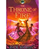 [ The Kane Chronicles, The, Book Two: Throne of Fire[ THE KANE CHRONICLES, THE, BOOK TWO: THRONE OF FIRE ] By Riordan, Rick ( Author )Aug-14-2012 Paperback