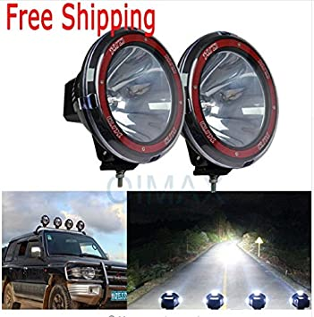 Volga 9 Inch Hid Xenon Fog Light 55w For All Cars And Suv With