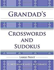 Grandad's Crosswords and Sudokus: Large Print