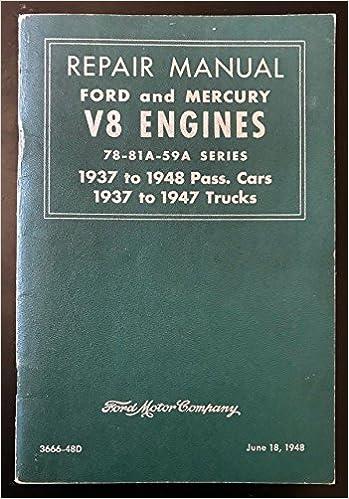 Service Manual Ford 460 V8 Engine