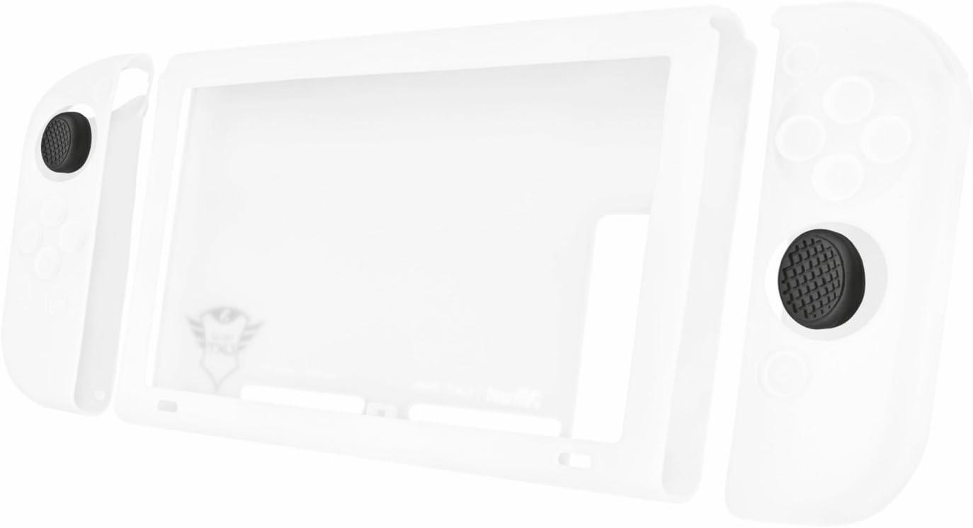 Trust Gaming GXT 1220 - Paquete con Funda de Silicona para Nintendo Switch, Transparente: Amazon.es: Informática