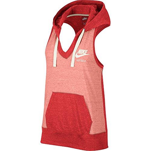 Nike Gym Vintage Women's Hoodie Light Crimson/Sail 728236-696 (Size XS)