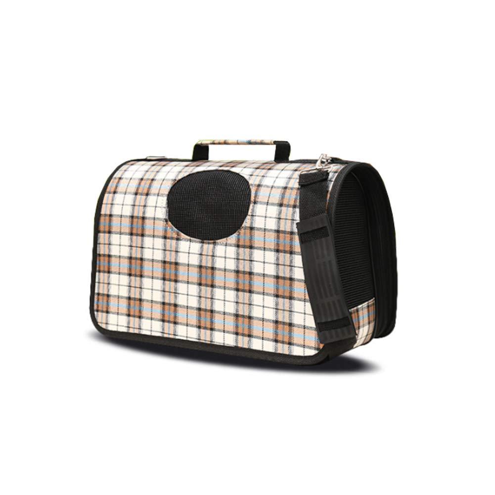 Large Pet Backpack Airline Approved Pet Carriers Single Shoulder Diagonal Shoulder Hand-held Breathable Portable Dog Bag cat cage