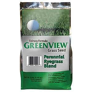 GreenView Fairway Formula Grass Seed Perennial Ryegrass Blend, 10 lb Bag