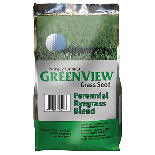 GreenView Fairway Formula Grass Seed Perennial Ryegrass Blend, 10 lb Bag