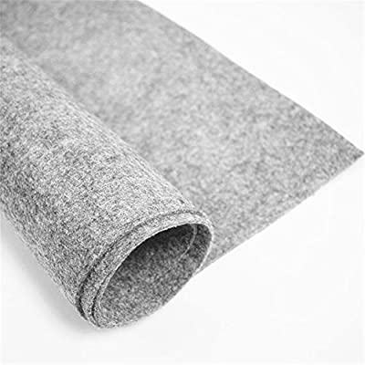 top fashion fbe1e 8fe11 Amazon.com  Felt Fabric 3 mm Thick, Light Grey Craft Felt Cloth Non-Woven  Wool Felt Fabric Sold by The Yard (3 mm Thick, Light Grey)