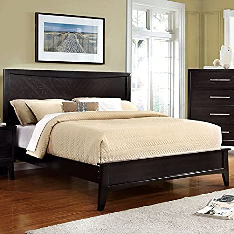 Amazon.com: Snyder Espresso Finish Full Size 6-Piece Bedroom ...