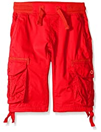 Southpole Big Boys' Boys Jogger Shorts with Cargo Pockets In Basic Solid Colors