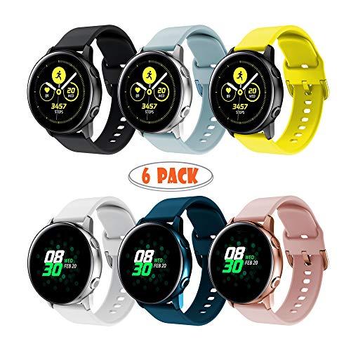 Yayuu para Samsung Galaxy Watch Active Correa, Silicona ...