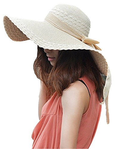 Large Rose Sun Hat - 5