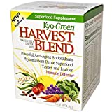 Kyo-Green Harvest Blend Superfood Supplement (6-Ounce Bottle) Green Powder Superfood Blend, Quick-Dissolving Nutritional Supplement Review