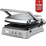 Cuisinart Griddler Deluxe Brushed Stainless (GR-150) with 1 Year Extended Warranty