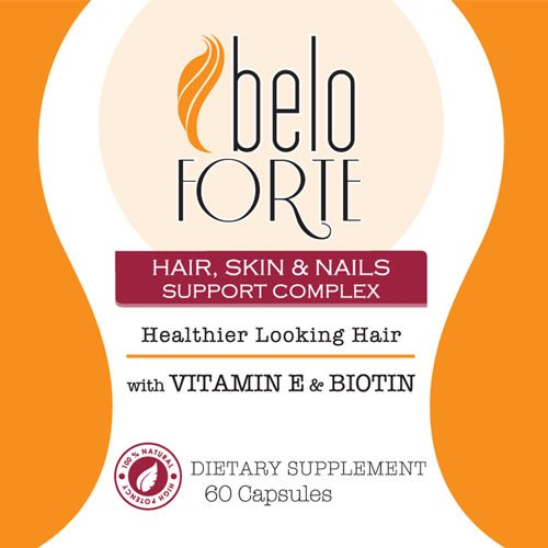 Amazon.com: Beloforte Hair Skin & Nails Support Complex 60 capsules - Vitamins for Stronger Hair - Vitaminas para Cabellos más Fuertes: Health & Personal ...