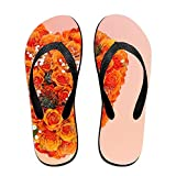 Mens Womens Bare Bird Printed Flip Flops Adult Children Classic Slipper